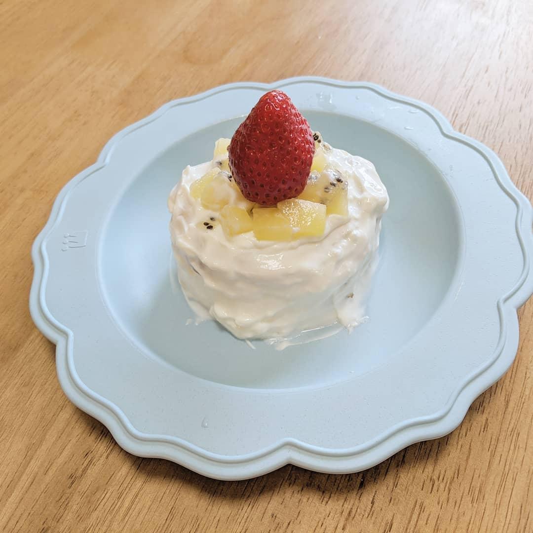 自作したスマッシュケーキ
